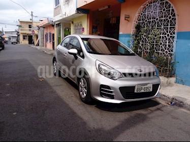 Foto venta Auto usado Kia Rio 1.4L  (2015) color Plata precio u$s16.500