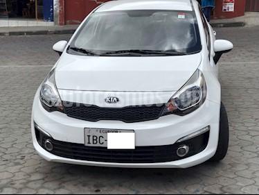Foto venta Auto usado Kia Rio 1.4L  (2017) color Blanco precio u$s16.500