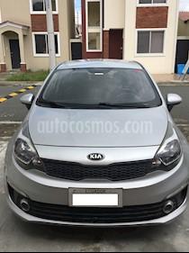 Kia Rio 1.4L TM usado (2017) color Plata precio u$s15.500