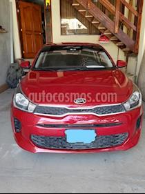KIA Rio 1.4 LX  usado (2018) color Rojo precio $11,800