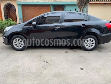 KIA Rio 1.2L LX usado (2017) color Negro precio $10,500