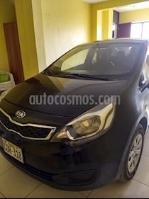 KIA Rio 1.4 EX Full usado (2013) color Negro precio u$s9,000