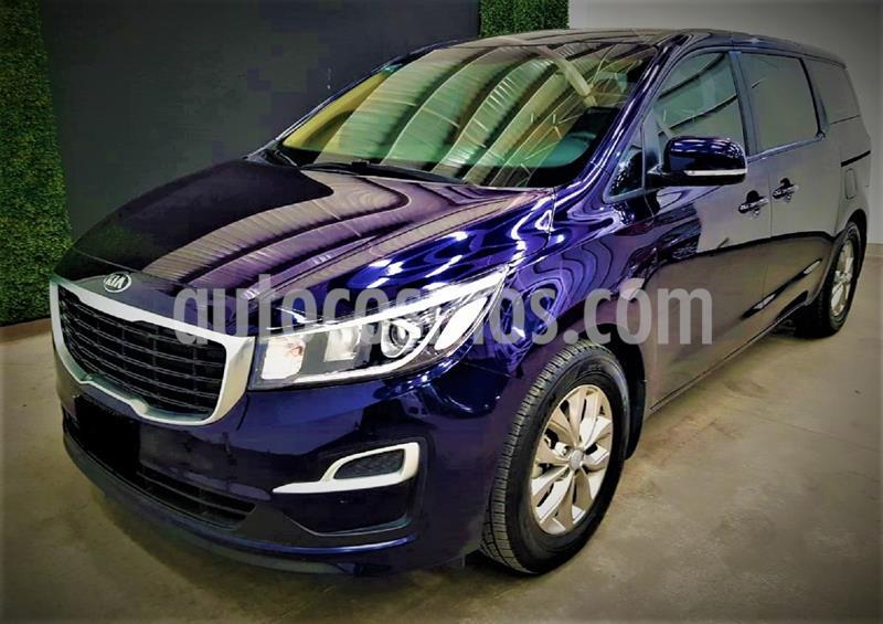 Kia Sedona LX usado (2019) color Azul precio $439,999