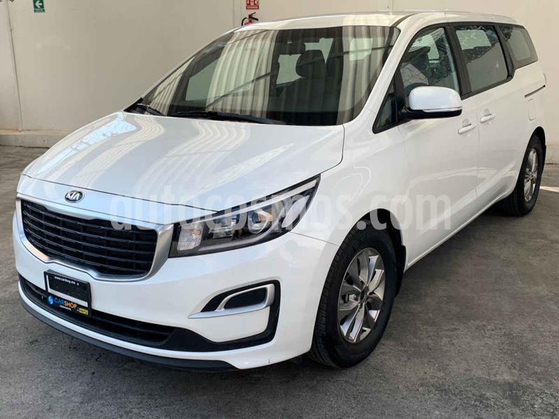 Kia Sedona 5  pts LX 3.3L MPI, TA 6 Vel, A/C, VE, BA, BL, Tel usado (2019) color Blanco precio $444,900