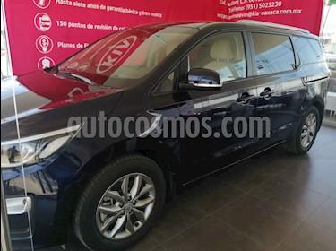 Kia Sedona 5  pts EX 3.3L MPI, TA 6 Vel, A/C, VE, BA, BL, Tel usado (2019) color Azul precio $519,000