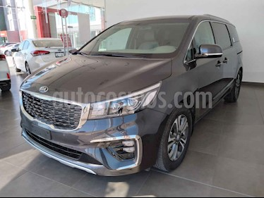 Kia Sedona 5p SXL 3.3L MPI, TA 6 Vel, A/C, Piel, VE, BA, BL,  usado (2020) color Negro precio $744,000