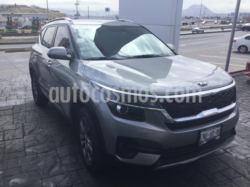 Kia Seltos EX PACK Aut usado (2020) color Gris Oscuro precio $378,000