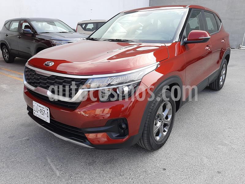 Kia Seltos EX usado (2020) color Rojo precio $345,000