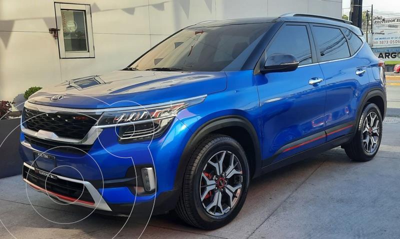 Kia Seltos GT Line Aut usado (2020) color Azul precio $425,000