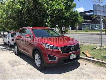 Foto venta Auto usado Kia Sorento 2.4L LX 5 Pas (2016) color Rojo precio $265,000