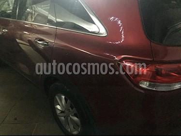 Kia Sorento 2.4L LX usado (2016) color Cereza Oscuro precio $280,000
