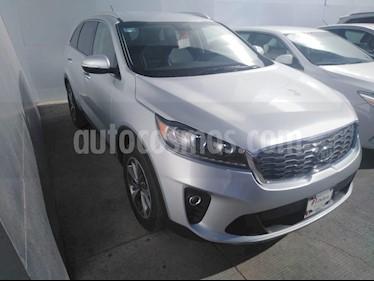 Foto venta Auto usado Kia Sorento 3.3L EX 7 Pas (2019) color Plata precio $469,000