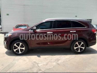Foto venta Auto usado Kia Sorento 3.3L EX Pack Nav 7 Pas (2017) color Vino Tinto precio $439,000