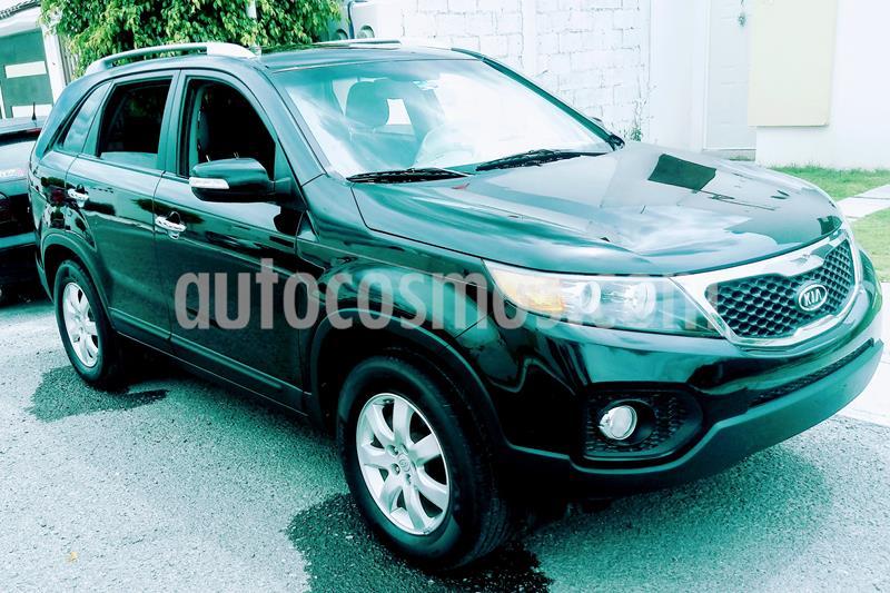 Kia Sorento 2.4L LX 5 Pas usado (2011) color Negro Ebano precio $155,000