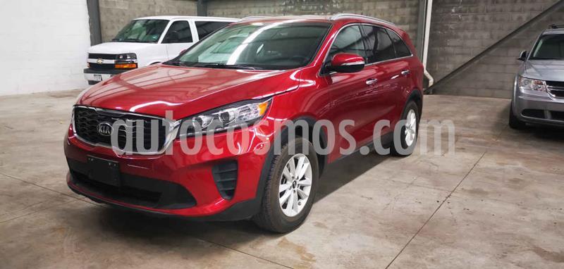 Kia Sorento 2.4L LX 5 Pas usado (2019) color Rojo precio $329,900
