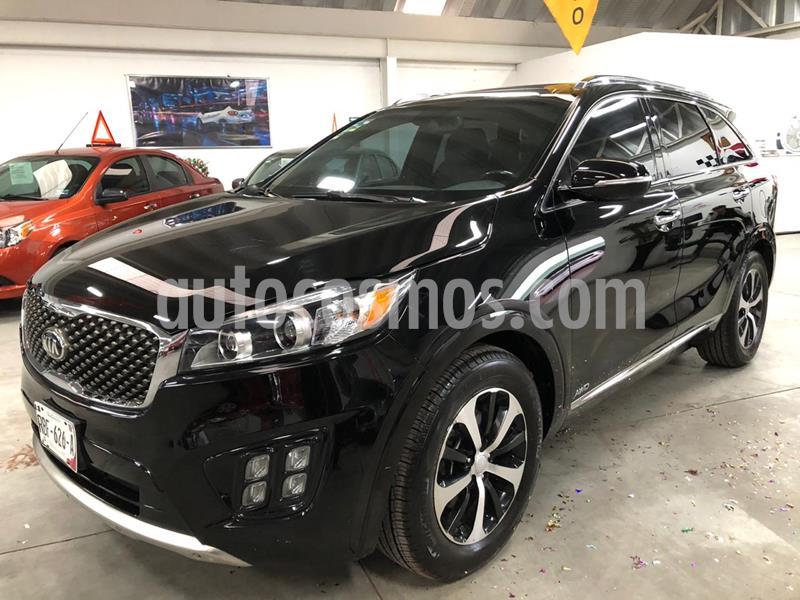 Kia Sorento 3.3L SXL AWD usado (2017) color Negro precio $410,000