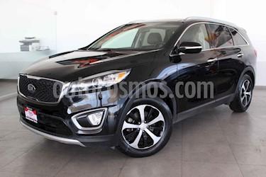 Kia Sorento 5 pts. EX PACK, V6 TA A/AC, Piel QCP GPS 7 pas. RA usado (2016) color Negro precio $287,000