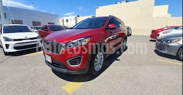 Kia Sorento 2.4L LX 5 Pas usado (2016) color Rojo precio $265,000