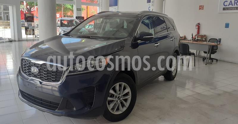 Kia Sorento 2.4L LX 5 Pas usado (2019) color Azul precio $319,900