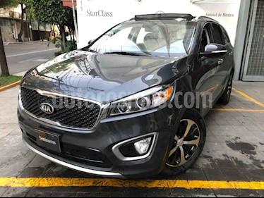 Kia Sorento 5 pts. EX Pack, V6, TA, A/AC, Piel, QCP, GPS, 7 pa usado (2018) color Gris precio $485,000