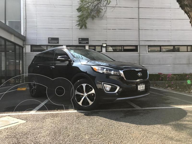 Kia Sorento 3.3L EX 7 Pas usado (2017) color Negro precio $378,000