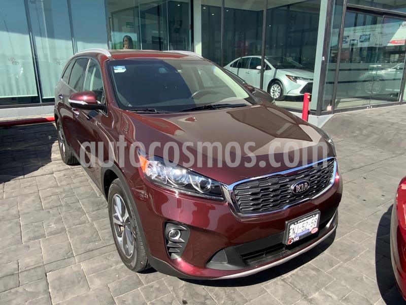Kia Sorento 3.3L EX 7 Pas usado (2019) color Bordo precio $415,000