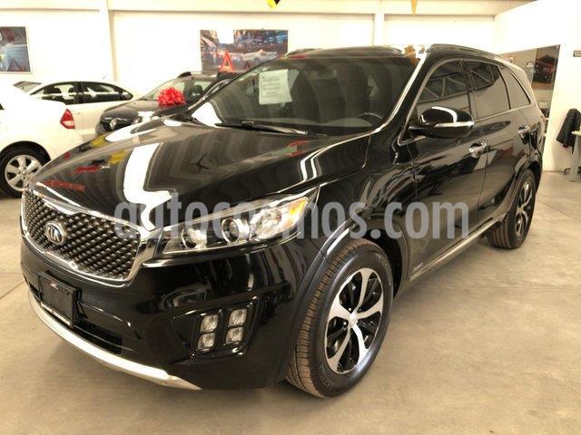 Kia Sorento 3.3L SX usado (2017) color Negro Ebano precio $410,000