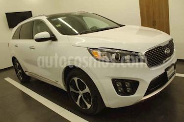 Kia Sorento 5 pts. SXL, V6, TA, A/AC, Piel, f. led, QCP, GPS,  usado (2018) color Blanco precio $449,000