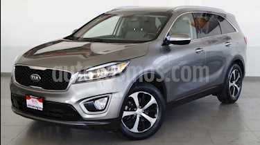 Kia Sorento 5 pts. EX PACK, V6 TA A/AC, Piel QCP GPS 7 pas. RA usado (2016) color Blanco precio $339,000