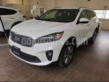 Kia Sorento 3.3L EX 7 Pas usado (2020) color Blanco precio $505,000