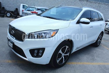 Kia Sorento 5 pts. SXL, V6, TA, A/AC, Piel, f. led, QCP, GPS,  usado (2018) color Blanco precio $439,000