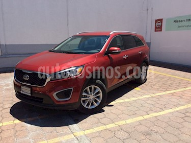 Foto venta Auto usado Kia Sorento SORENTO 2.4 LX AUTO 5P 7 Plazas (2018) color Rojo precio $339,000