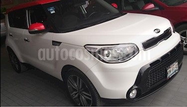 Foto venta Auto usado Kia Soul 5p EX L4/2.0 Aut (2016) color Blanco precio $255,000