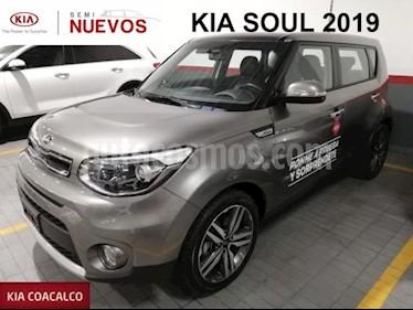 Foto venta Auto usado Kia Soul 5p EX Pack L4/2.0 Aut (2019) color Gris precio $332,000