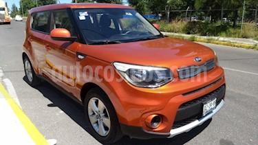 Kia Soul 5p LX L4/1.6 Aut usado (2018) color Naranja precio $210,000