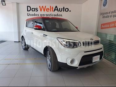 Foto venta Auto usado Kia Soul EX Aut (2019) color Blanco precio $298,900