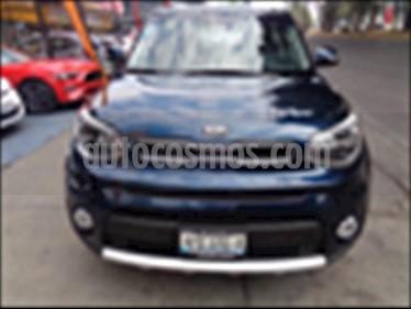 Foto venta Auto usado Kia Soul EX Pack Aut (2018) color Azul Marino precio $320,000