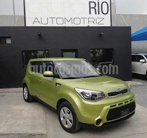 Foto venta Auto usado Kia Soul LX Aut (2016) color Verde precio $195,000