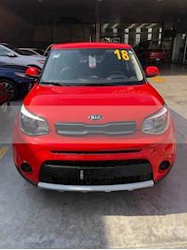 Foto venta Auto usado Kia Soul LX Aut (2018) color Rojo precio $244,000
