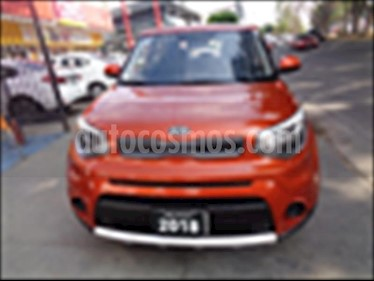 Foto venta Auto usado Kia Soul LX Aut (2018) color Naranja precio $255,000