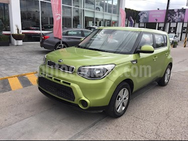 Foto venta Auto usado Kia Soul LX (2016) color Verde precio $199,000