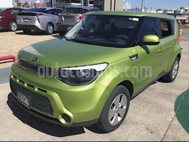 Foto venta Auto usado Kia Soul LX (2016) color Verde precio $188,000