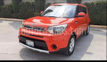 Kia Soul 5P LX. 1.6L 120 HP TM6 A/AC. RA-16 usado (2019) color Rojo precio $250,000