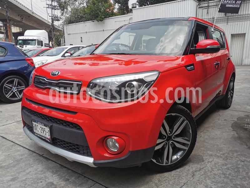Foto Kia Soul EX Pack Aut usado (2018) color Rojo Infierno precio $260,000