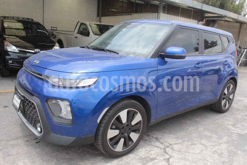 Kia Soul LX Aut usado (2020) color Azul precio $259,000
