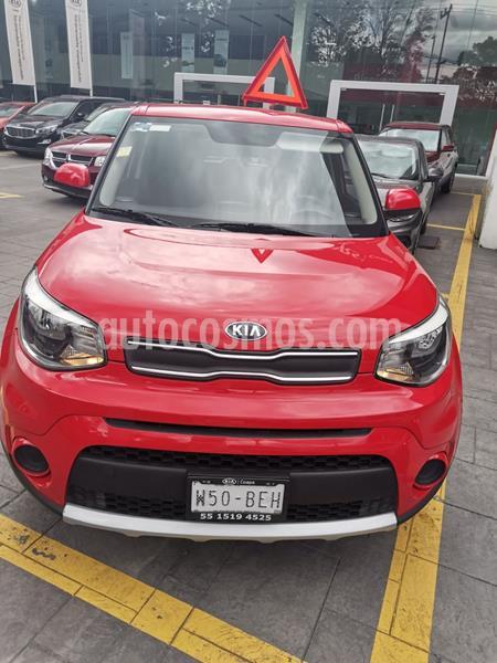 Kia Soul LX Aut usado (2018) color Rojo precio $220,000