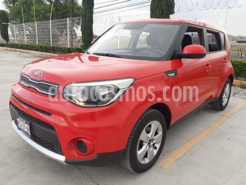 Kia Soul LX usado (2018) color Rojo precio $210,000