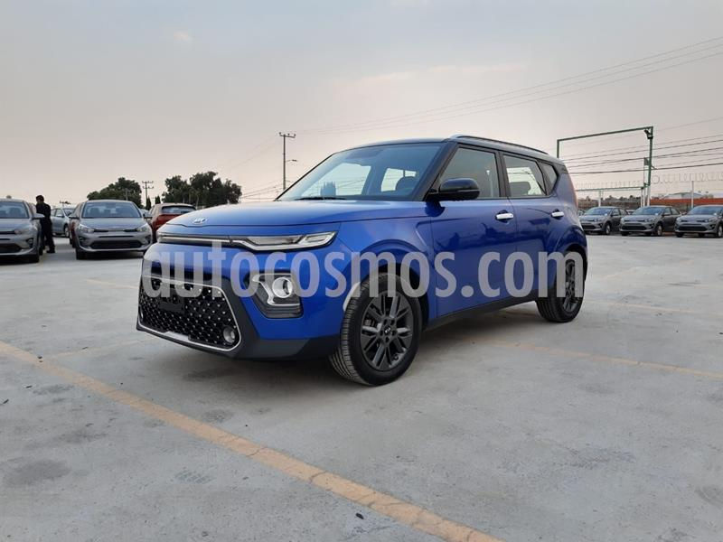 Kia Soul EX Aut usado (2020) color Azul precio $335,000