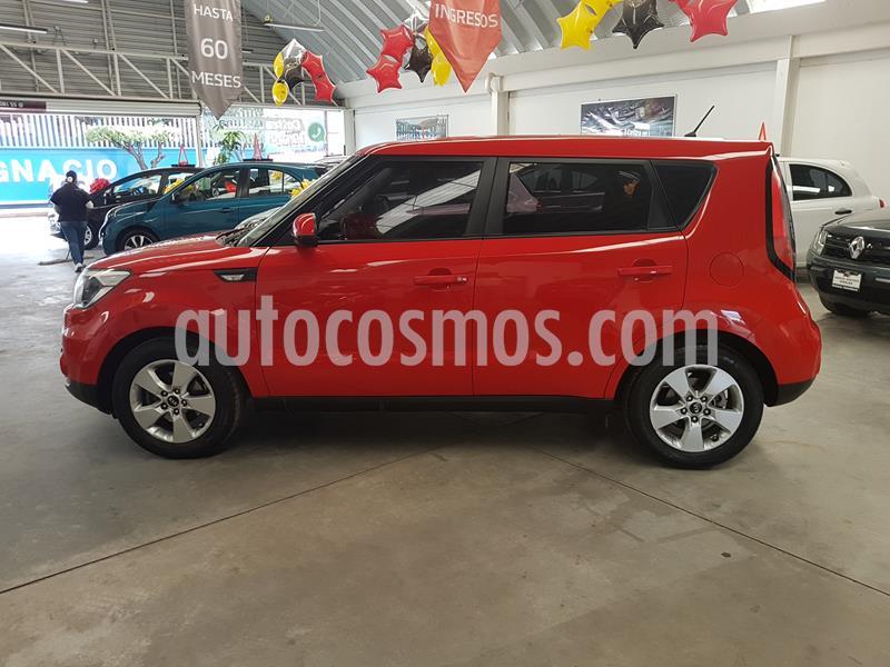 Kia Soul LX Aut usado (2018) color Rojo precio $229,000