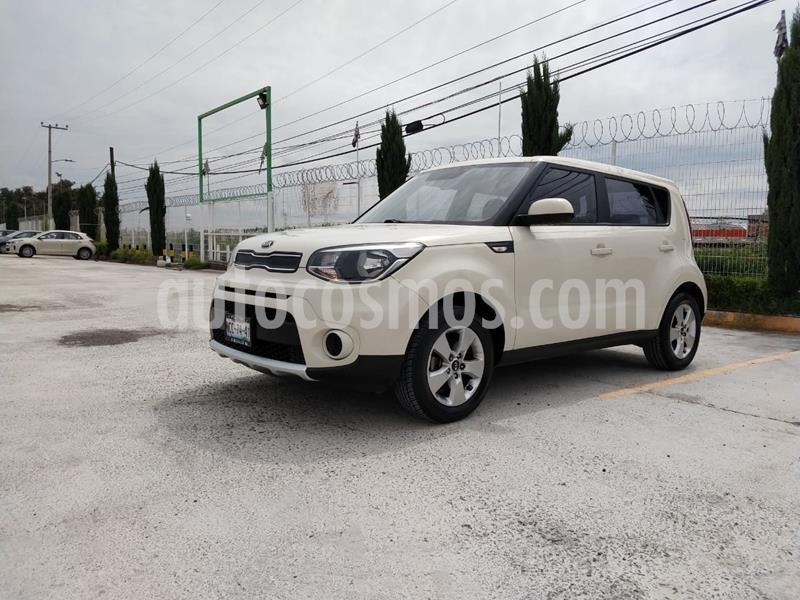 Kia Soul LX Aut usado (2018) color Blanco precio $227,000